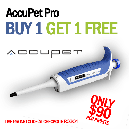 AccuPet Pro Single Channel Pipette - Micropipette