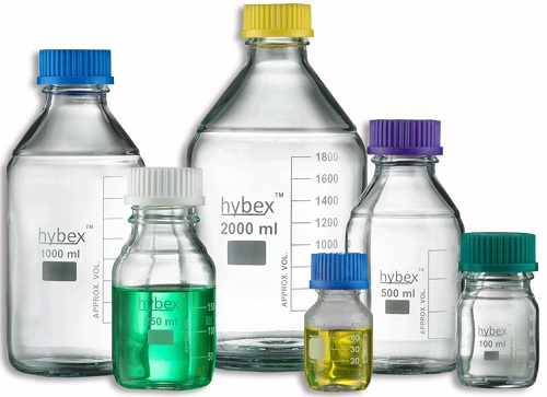 Hybex Media Storage Bottles from Benchmark