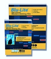 MTC Bio Blu-Lite UHC Western Blotting Film – High Contrast, Sensitivity