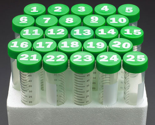 CELLTREAT Printed Cap Centrifuge Tubes