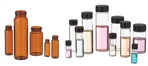 WHEATON E-C Glass Chromatography Vials