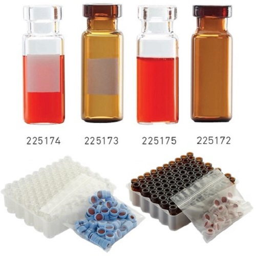 WHEATON E-Z Chromatography Crimp Top Vials & Packs