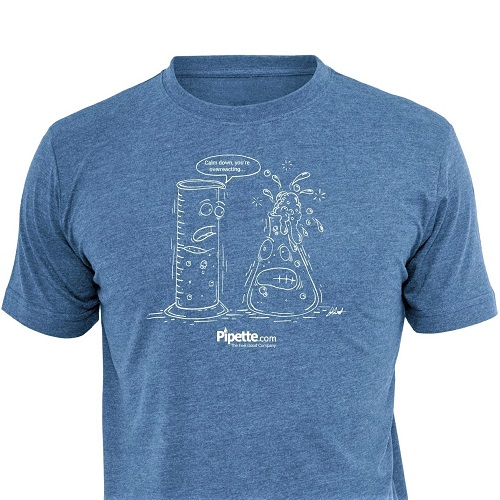 Over Reacting T-Shirts from Pipette.com