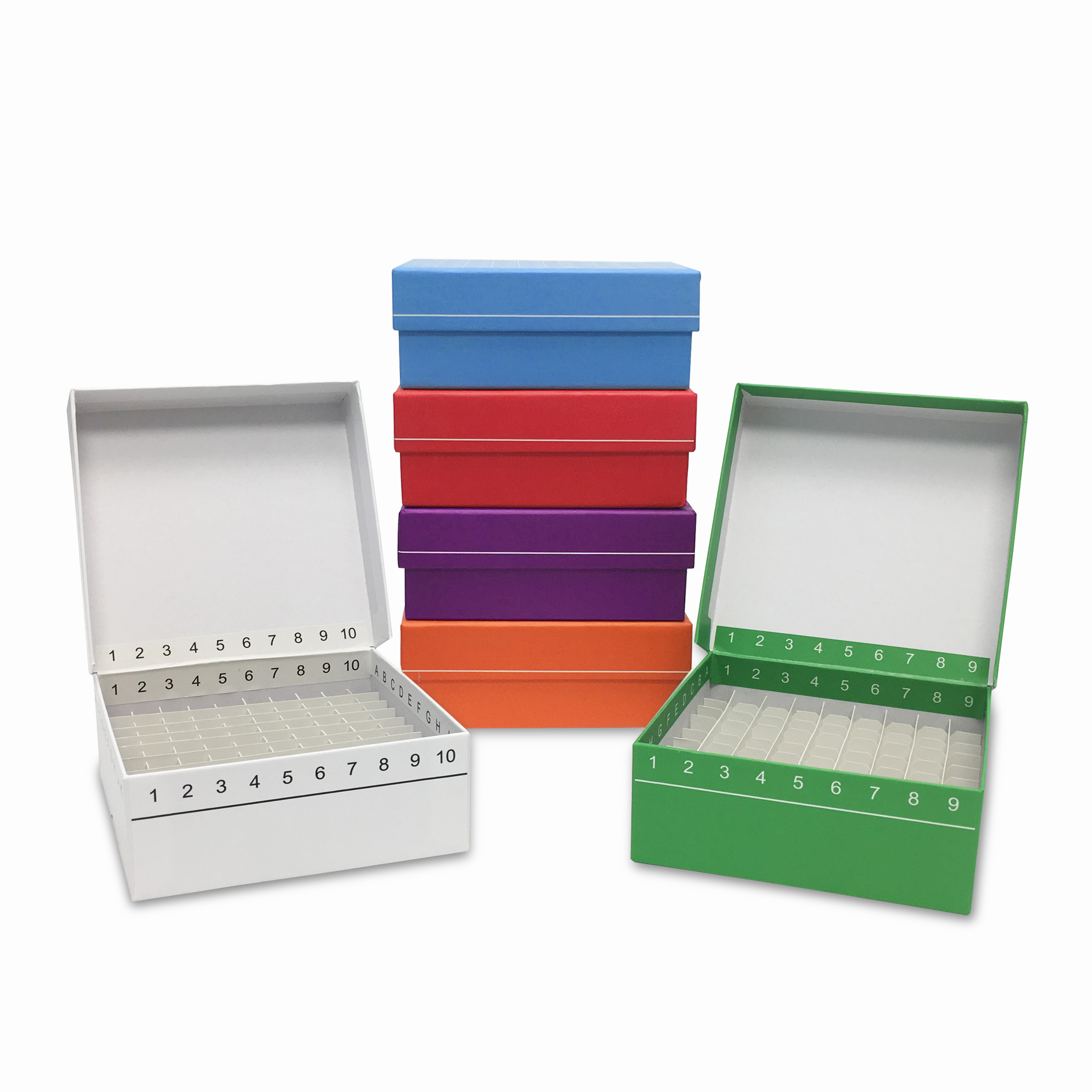 MTC-Bio FlipTop Hinged Cardboard Freezer Boxes