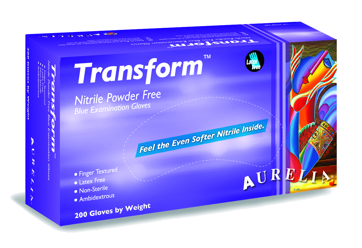 Aurelia Transform Chemo Rated Nitrile Gloves