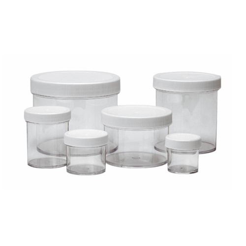 WHEATON Wide Mouth PP & PS Jars