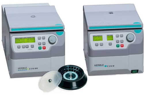 Benchmark Hermle Z216 & Refrigerated Z216-MK Microcentrifuges