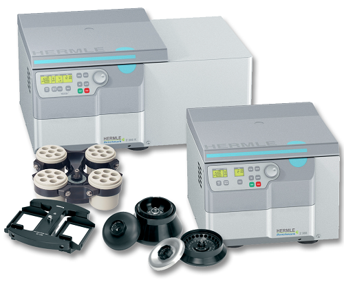 Benchmark Hermle Z366 and Refrigerated Z366-K Centrifuges