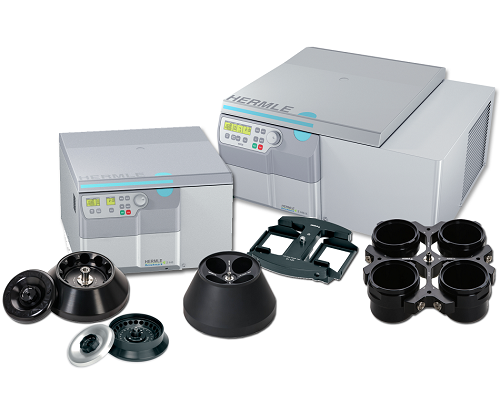 Benchmark Hermle Z446 and Refrigerated Z446-K High Capacity Centrifuges