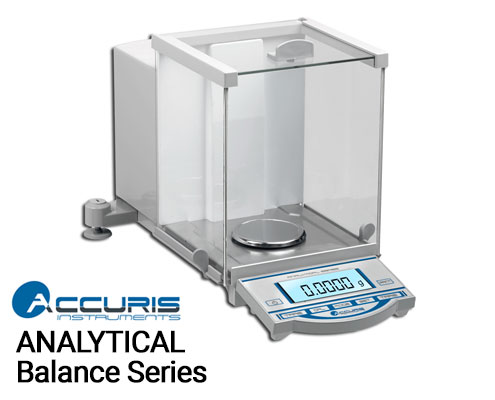 Benchmark Scientific Accuris™ Analytical Balance Series, Readability: 0.0001g