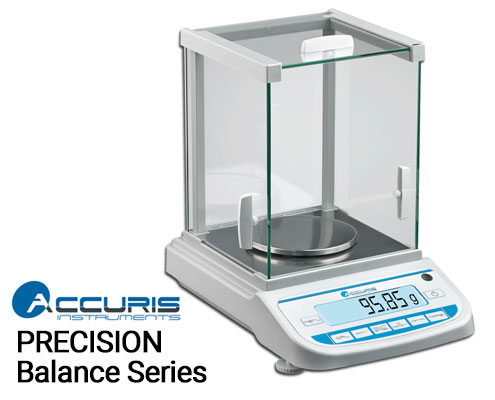 Benchmark Scientific Accuris Precision Balance Series, Readability: 0.01 to 0.001g