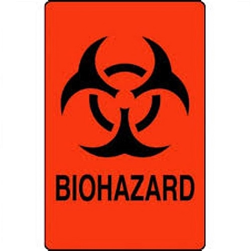 Nev's Ink Biohazard and Chemical Labels