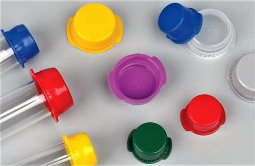 Globe Scientific Double Tab Snap Caps for Vacuum and Test Tubes