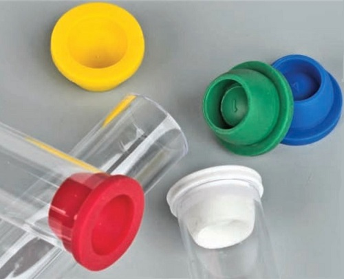 Globe Scientific Pierceable Caps (Stoppers) for Vacuum and Test Tubes