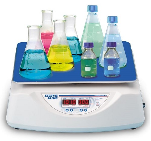 Scientific Industries Orbital-Genie Shaker with Adhering Mat