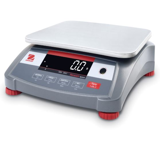 OHAUS | Ranger 4000 Industrial Bench Scales | Pipette.com