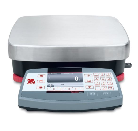 OHAUS Ranger 7000 Compact Bench Scales | Pipette.com