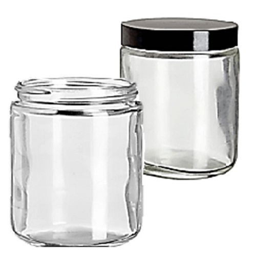 WHEATON Safety Coated Glass Jars