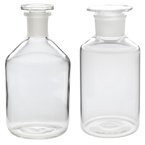 WHEATON Glass Reagent Bottle with Stopper