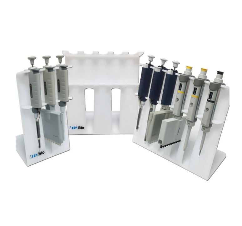 SureStand Multi-Channel Capable Pipette Rack from MTC Bio