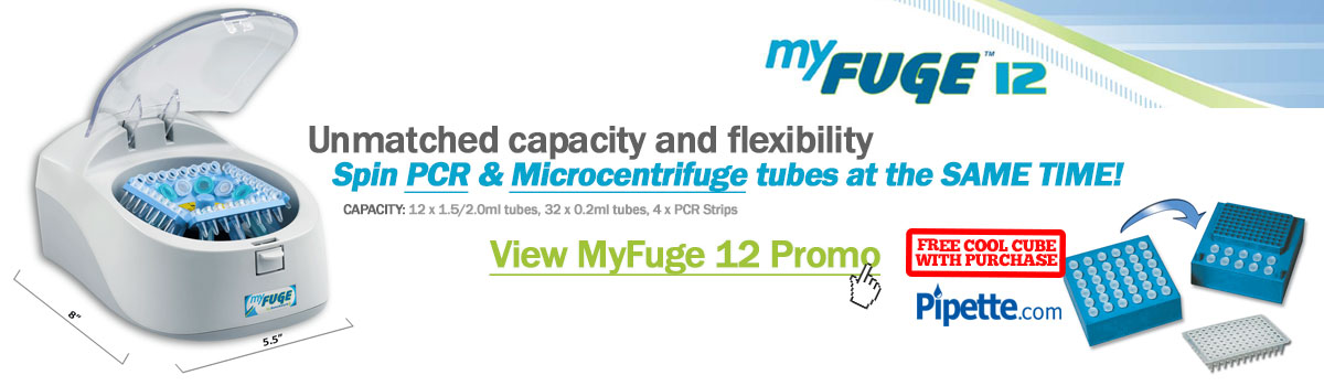 Mini Centrifuge - MyFuge 12 Promotion: Free Cool Cube with Purchase