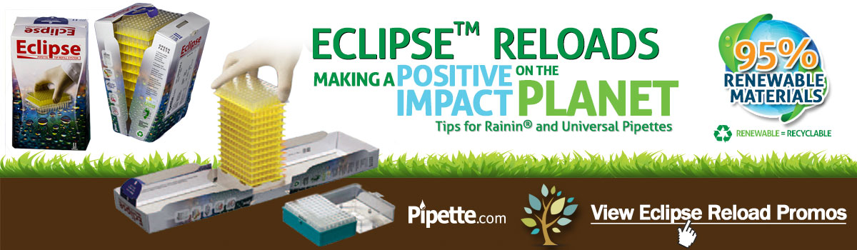 Eco-Friendly Eclipse Pipette Tips Reload System