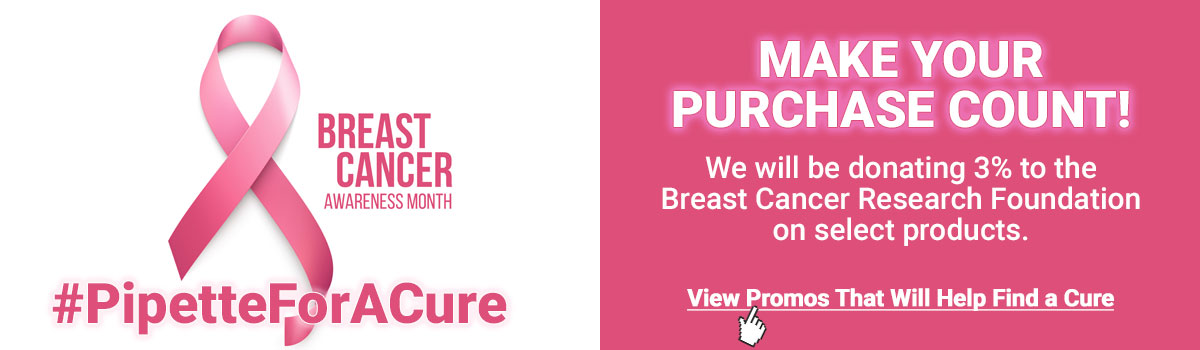 Breast Cancer Awareness Month #PipetteForACure