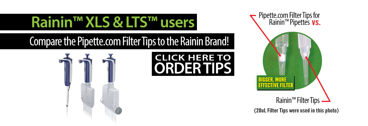 Tips for Rainin LTS Pipettes
